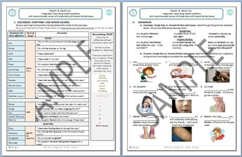 Health and Medicine (Unit A Packet): Minor Illnesses and Clinic Visits