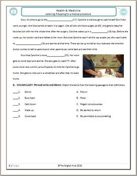 Health and Medicine (C): Preparing for a Medical Procedure  (Adult ESL)