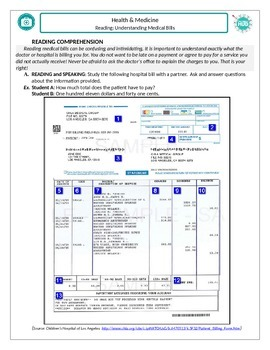 Health and Medicine (B): Understanding Medical Bills