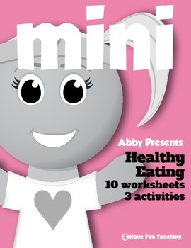 Health and Nutrition Mini Pack: Healthy Eating