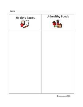 Health and Nutrition Sorting