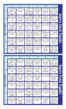Health and Personal Hygiene Spanish Battleship Board Game
