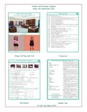 Health and Personal Hygiene Video and Worksheet