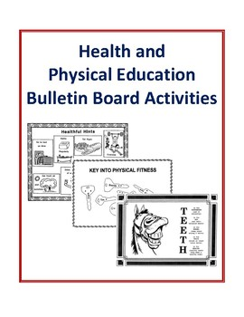 Health and Physical Education Bulletin Board Activities