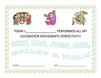 Health and Physical Education Certificates