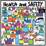 Health and Safety Clipart - Bilingual Scrapbook