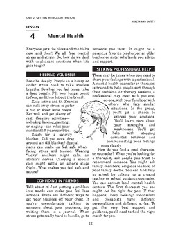 Health and Safety: Getting Medical Attention-Mental Health