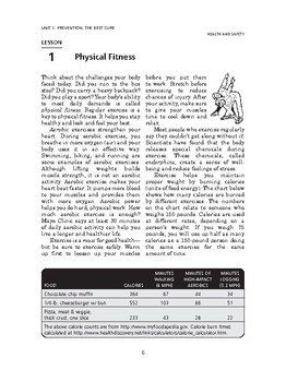 Health and Safety: Prevention: The Best Cure-Physical Fitness