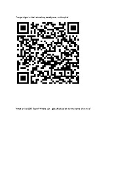 Health and Safety QR Codes