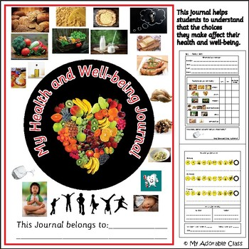 Health and Well-being Journal /  Health and feelings