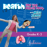 """Health and the Human Body Digital Download / """"Miss Jenny's Edutunes"""""""
