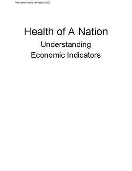 Health of A Nation: Understanding Economic Indicators