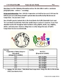 Health of Great Barrier Reef CER Conclusion Paragraph with Rubric