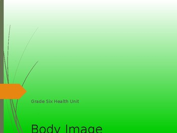 Health unit: Body Image