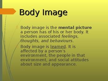 Health unit: Body Image