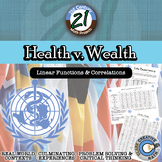 Health v. Wealth -- International Data & Correlation - 21st Century Math Project