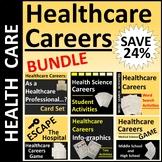 Healthcare Career Exploration Activities Bundle SAVE 25%