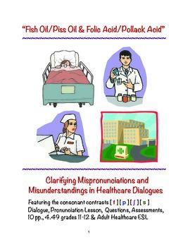 """Healthcare Dialogues: Fish Oil/Piss Oil & Folic Acid/Pollack Acid"""