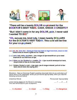 Healthcare Dialogues for ESL Pronunciation Improvement