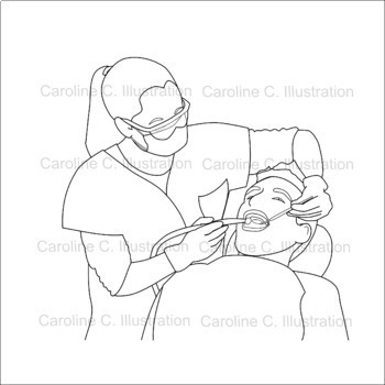 Healthcare Professionals and Careers Clip Art
