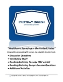 Complete Adult ESL Lesson (Healthcare Spending in the Unit