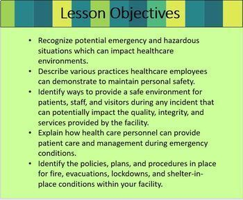 Healthcare Workplace Safety