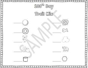 Healthy 100th Day Trail Mix (FREEBIE)