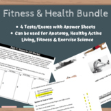 Healthy Active Living - Fitness & Anatomy - BUNDLE of Tests & Exams