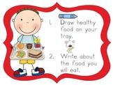 Healthy Bodies Kindergarten Literacy Centers