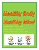 Healthy Body: Create a Menu, Take an Order, Make a Plate