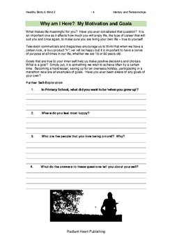 Healthy Body and Mind 2: Identity and Relationships VCAL RESOURCES