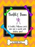 Healthy Bones! {A healthy Halloween party idea and a mental math skeleton game!}