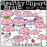 Healthy Brain Clipart | Growth Mindset
