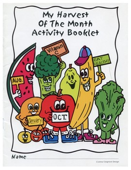 Healthy Choices Activity Booklet