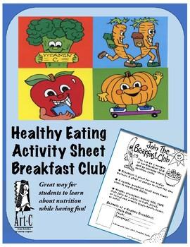 Healthy Choices Activity: Breakfast Club