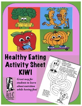 Healthy Choices Activity Sheet: Kiwis