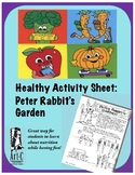 Healthy Choices Activity Sheet: Peter Rabbit's garden