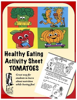 Healthy Choices Activity Sheet: Tomatoes