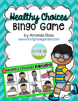 Healthy Choices Bingo {Small Group Health Activity}