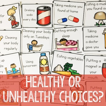 Healthy Choices Classroom Guidance Lesson for Early Elementary/Primary