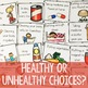 Healthy Choices Classroom Guidance Lesson for Early Elementary Counseling