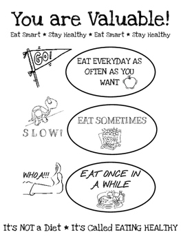 Healthy Choices Lunchroom Poster