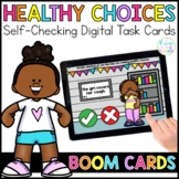 Healthy Choices for Social Distancing | Boom Cards™ | Dist