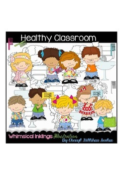 Healthy Classroom  Clipart Collection