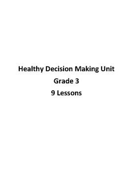Healthy Decision Making Unit