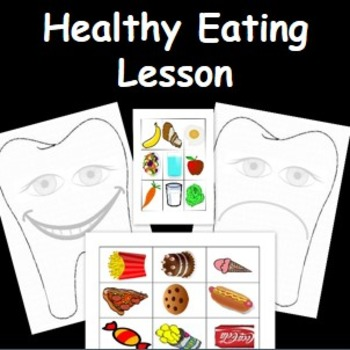 Healthy Eating- Health and Wellbeing activity