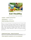Healthy Eating - PBL