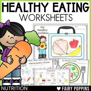 Healthy Eating Activities - NO PREP