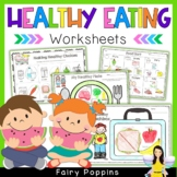 Healthy Eating Activities - NO PREP