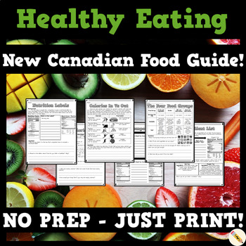 Healthy Eating Canada Unit Bundle